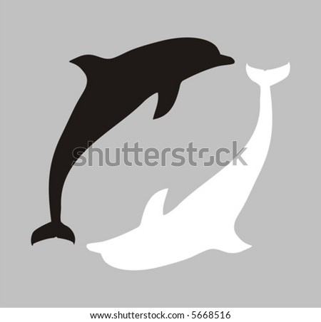 dolphin silhouettes download free vector art stock graphics images