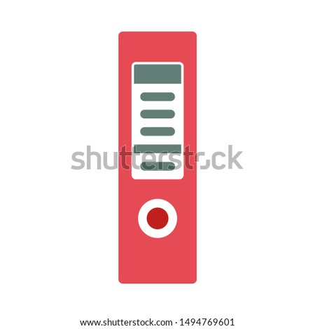 file archive icon. flat illustration of file archive - vector icon. file archive sign symbol