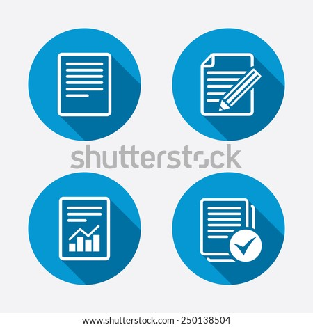 file document icons document