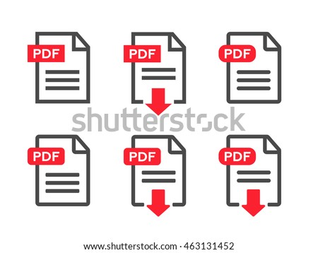 File download icon. Document text, symbol web format information eps10