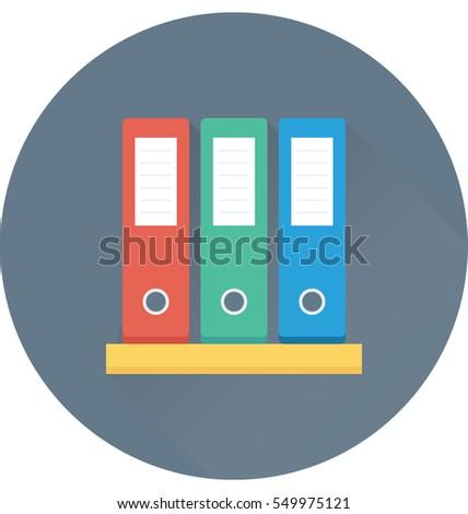 File Folder Vector Icon