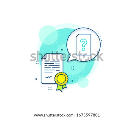 file with question mark sign