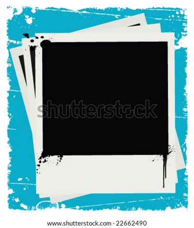 Film Grunge (Vector) - stock vector