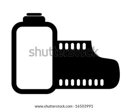 Film Icon Black/white