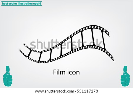 film icon vector illustration