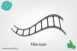 Film icon vector illustration eps10.