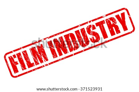 film industry red stamp text on