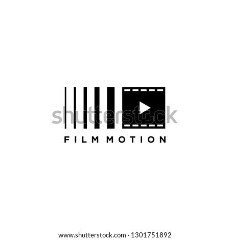 Film motion logo template
