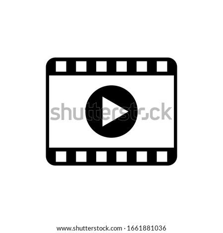 Film movie icon vector trendy