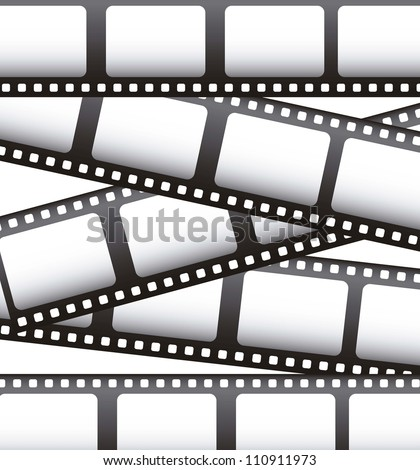 film movie over white background. vector illustration