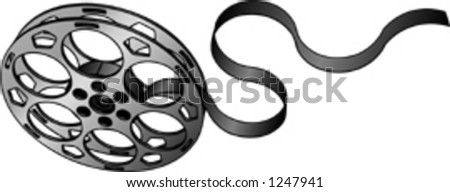 Film Reel 01 - stock vector