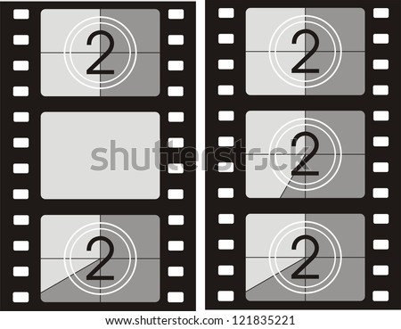 movie reel picture frame