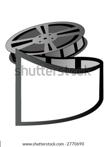 film reel clipart. stock vector : Film Reel -