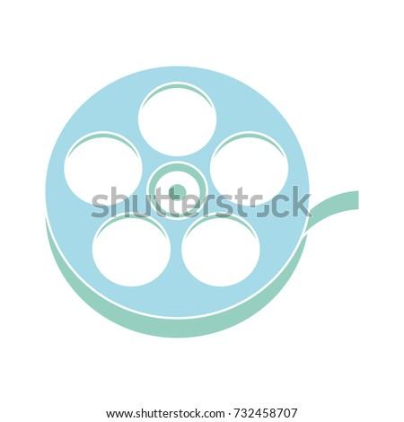film roll flat icon