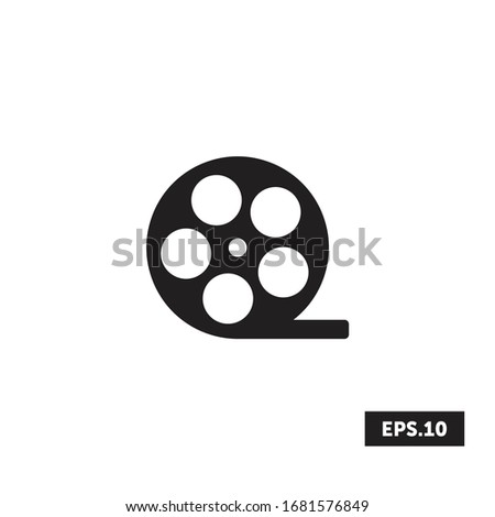 Film Roll icon, Cinematography sign/symbol vector