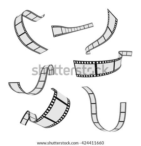 film strip and film reel design ...