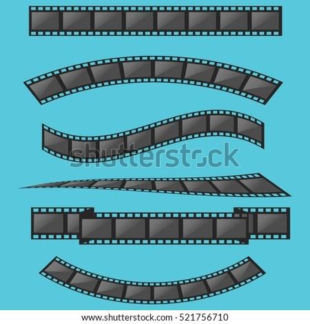 film strip frame set