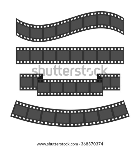 film strip frame set different