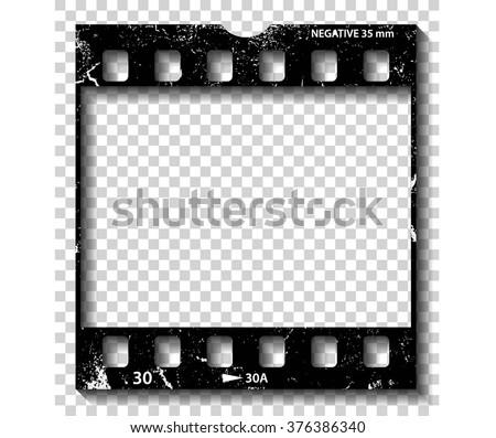 Film strip illustration, vector
