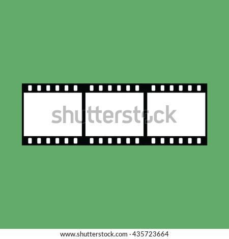 film strip vector icon