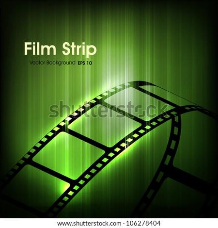 film stripe or film reel on