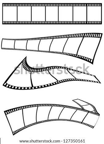 film strips design