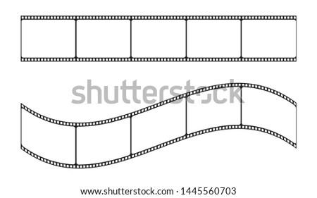 films trip vector illustration
