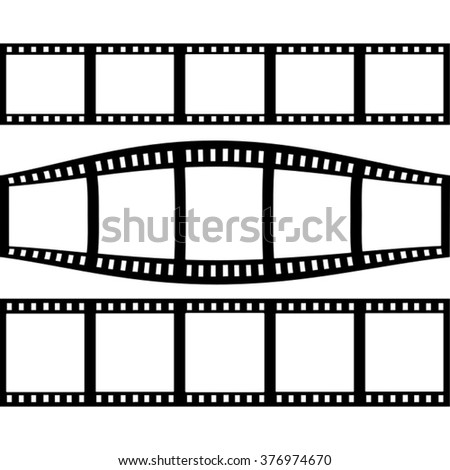 filmstrip set with three