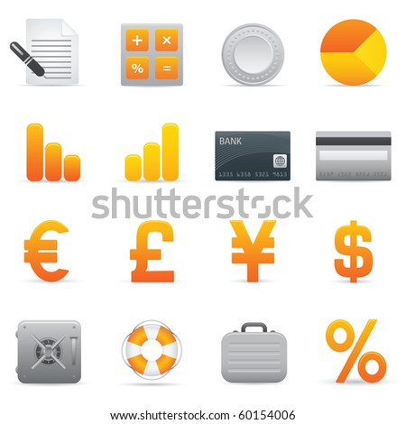 Finance Icons | Yellow04  Professional icons for your website, application, or presentation