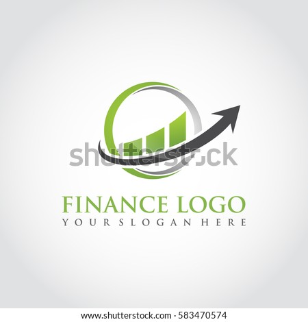 Finance Logo Template. Vector Illustrator Eps.10