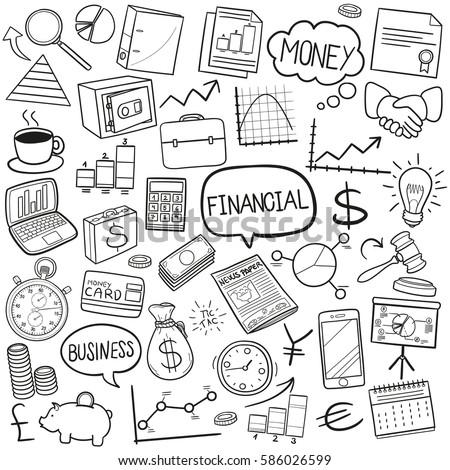 Finances Doodle Icon