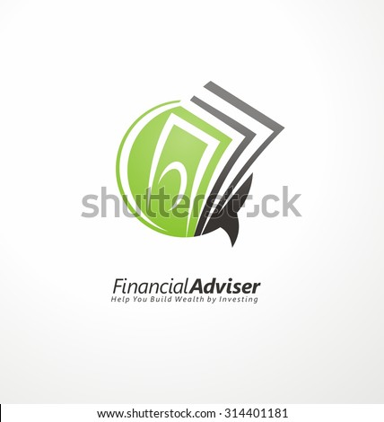 financial adviser logo design