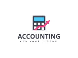 Financial Advisors Logo Design Template Vector. accounting logo design