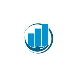 Financial Advisors Logo Design Template Vector Icon