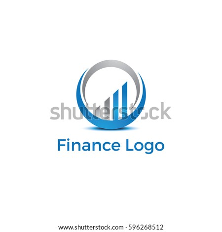 Financial and investment vector logo design