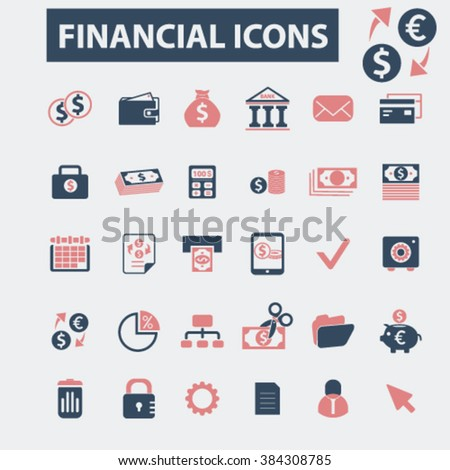 financial icons