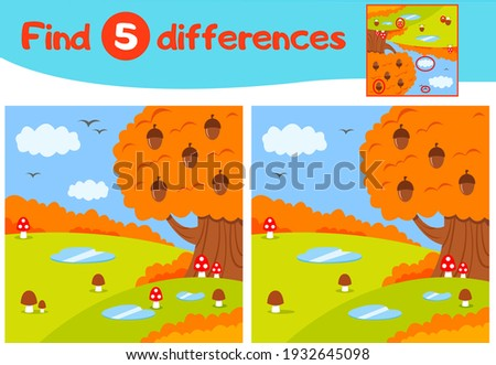find 5 differences education