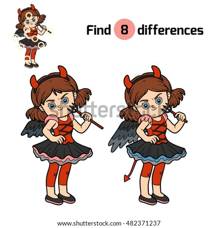 find differences  education