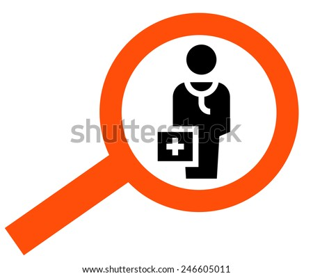 Find doctor icon