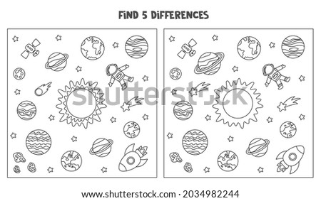 find five differences between