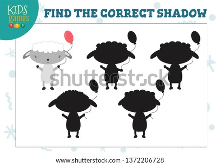find the correct shadow for
