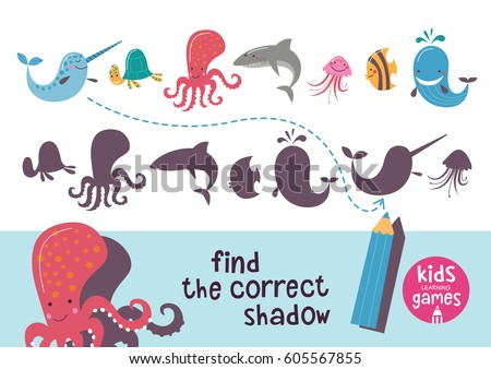 find the correct shadow kids
