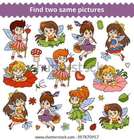 find two same pictures