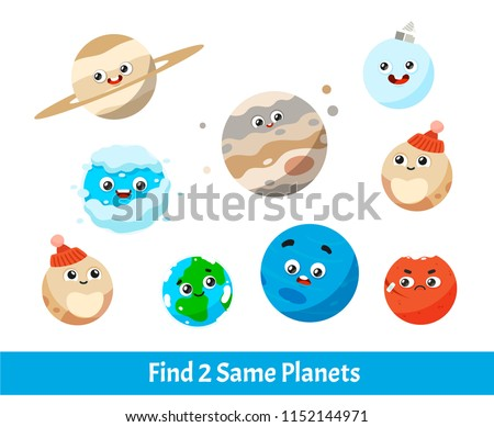 find two same planet