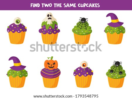 find two the same halloween
