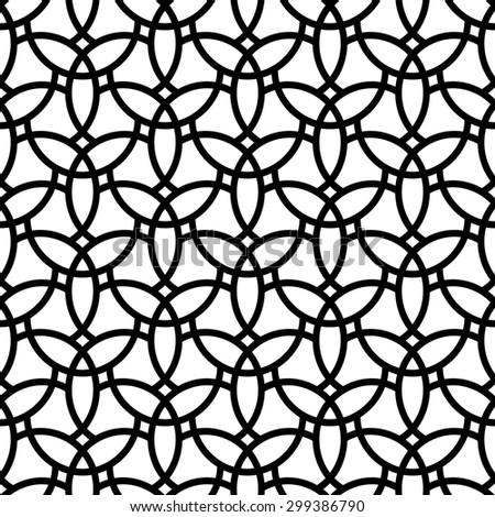 fine geometric vector pattern