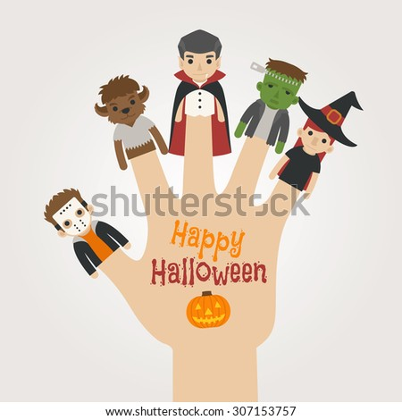 finger monsters halloween