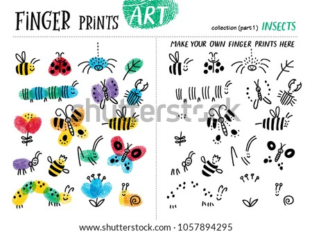 finger prints art the task