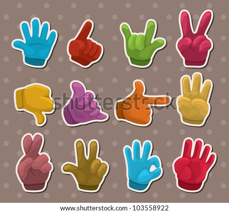 finger stickers