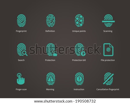 fingerprint and thumbprint